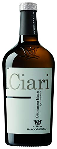 Borgo Molino I Ciari Sauvignon Blanc 2019 Wein trocken (1 x 0.75 l)