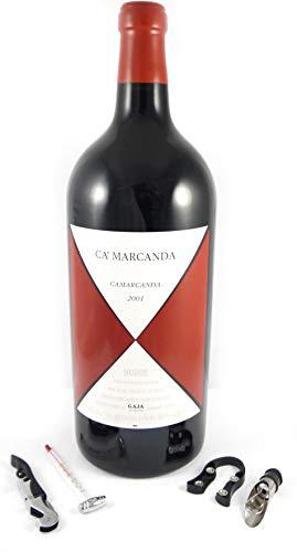 Ca'Marcanda Carmarcanda 2001 Angelo Gaja (5 litre - Jeroboam) Da zu vier Wein Zubehör,...