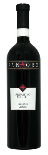 Angelo Rocca & Figli Primitivo-Merlot, Tarantino trocken (6 x 0.75 l)