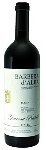 Barbera d´Alba Bussia DOC tr. 2018 Giacosa Fratelli, trockener Rotwein aus dem Piemont