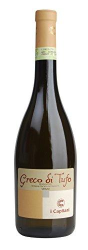 6x 0,75l - 2018er - I Capitani - Serum - Greco di Tufo D.O.C.G. - Kampanien - Italien - Weißwein...