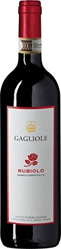 6x 0,75l - 2017er - Gagliole - Rubiolo - Chianti Classico D.O.C.G. - Toscana - Italien - Rotwein...