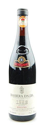 Wein 1988 Barbera d´Alba Bersano Conti della Cremosina