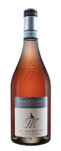 Bardolino Chiaretto Classico Le Morette, Valerio Zenato DOC Rosé trocken 0,75 Ltr.