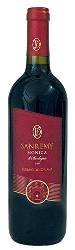 6x 0,75l - 2016er - Ferruccio Deiana - Sanremy - Monica di Sardegna D.O.C. - Sardinien - Italien -...