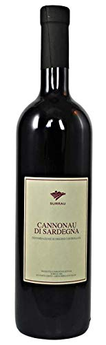 Cannonau di Sardegna DOC 2017 Vigne Surrau, trockener sardischer Rotwein