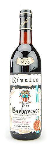 Wein 1970 Barbaresco Ercole Rivetto