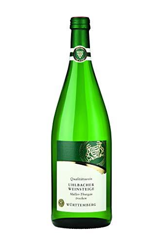 Württemberger Wein Uhlbacher Weinsteige Müller-Thurgau QW trocken (1 x 1,0l)