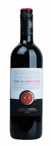 Terre di Campo Sasso Nero d'Avola IGT Sicilia 2013 (6 x 0.75 l)