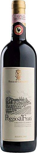 Rocca di Castagnoli Chianti Classico Riserva Poggio A'Frati Cuvée 2010 (3 x 0.75 l)
