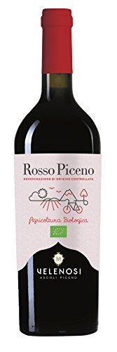 VELENOSI-Weine Bio-Wein Rosso Piceno DOC Italienischer Rotwein (1 flasche 75 cl.)