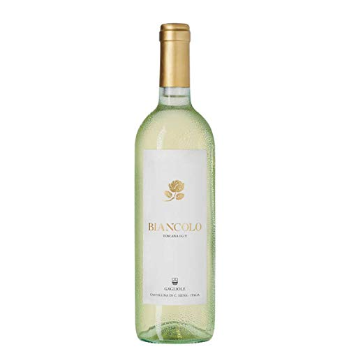 6 x Biancolo Bianco di Toscana IGT tr. 2018 Gagliole im Sparpack, trockener Weisswein aus der...