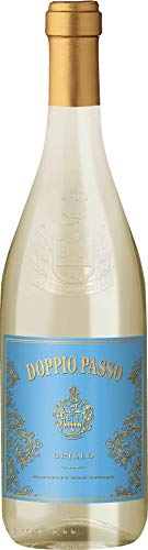 Doppio Passo Grillo Sicilia Weißwein italiensicher Wein trocken DOC Italien (3 Flaschen)