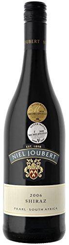 6 Flaschen Shiraz 2015 Niel Joubert Wine Estate, trockener Rotwein aus Südafrika
