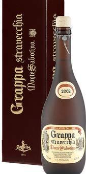 Grappa Stravecchia 2012 Italien von Monte Sabotino Vintage - 0.7 L mit 43% Vol.