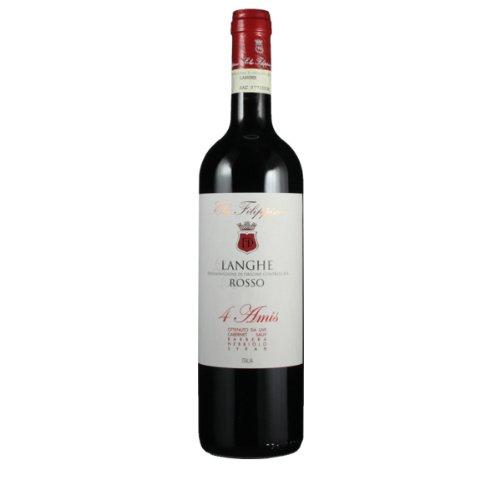 Elio Filippino 2012 Langhe Rosso 4 Amis DOC 0.75 Liter