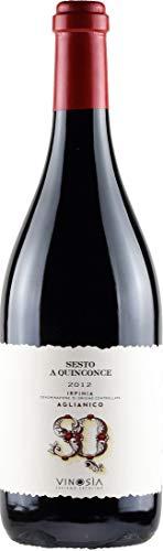 Sesto A Quinconce Aglianico Irpina DOC 2012, Vinosia Aziende Agricole, trockener Rotwein aus...