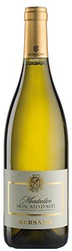 6x 0,75l - 2019er - Bersano - Monteolivo - Moscato d'Asti D.O.C.G. - Piemonte - Italien - Weißwein...
