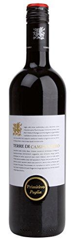 Terre di Campo Sasso Primitivo Puglia IGT 2019 trocken (0,75 L Flaschen)