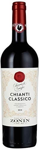 Zonin Seal Collection Chianti Classico Sangiovese DOCG 2012 Trocken (1 x 0.75 l)