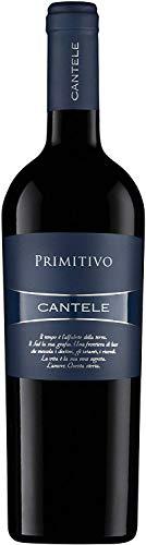 CANTELE 1 Flasche Vino PRIMITIVO rot I.G.T. Bettlaken von UVE NEGROAMARO