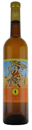 Georgischer Wein KAKHURI trocken - Oranger Wein, kachetische Weinbereitungsmethode, aus autochthone...