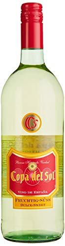 Copa del Sol Vino Blanco Fruchtig Süss Weißwein (1 x 1 l) Spanien