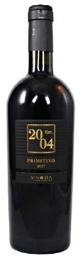 Est. 2004 Primitivo Salento IGT 2018, Vinosia - Apulien, trockener Rotwein aus Apulien