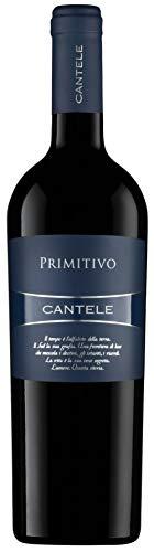 CANTELE 3 Flaschen Vino PRIMITIVO rot I.G.T. Bettlaken von UVE NEGROAMARO