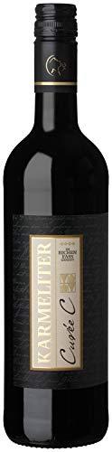 Württemberger Wein Fleiner KARMELITER Cuvée C Rotwein QW - Im Eichenfass gereift - trocken (1 x...