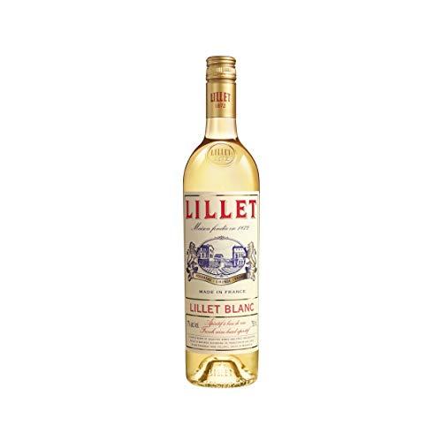 Lillet Blanc Aperitif / Fruchtiger französischer Weinaperitif aus 85% Weinen und 15% Fruchtlikören...