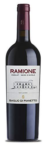 6x 0,75l - 2013er - Baglio di Pianetto - Ramione - Merlot & Nero d'Avola - Sicilia D.O.C. - Sizilien...
