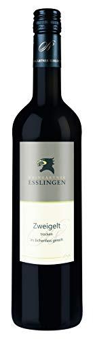 Württemberger Wein Esslinger Schenkenberg Zweigelt QW - Im Eichenfass gereift - trocken ( 1 x 0.75...