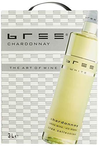 Bree Chardonnay Weißwein halbtrocken Bag-in-Box aus Frankreich (1 x 3 l)