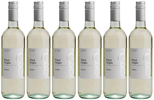 Az. Agr. Gorgo Pinot Grigio IGT del Veneto 2013/2014, 6er Pack (6 x 750 ml)