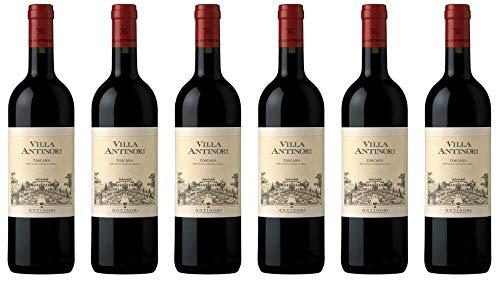 6x Villa Rosso Toscana 2016 - Weingut Marchesi Antinori, Toscana - Rotwein