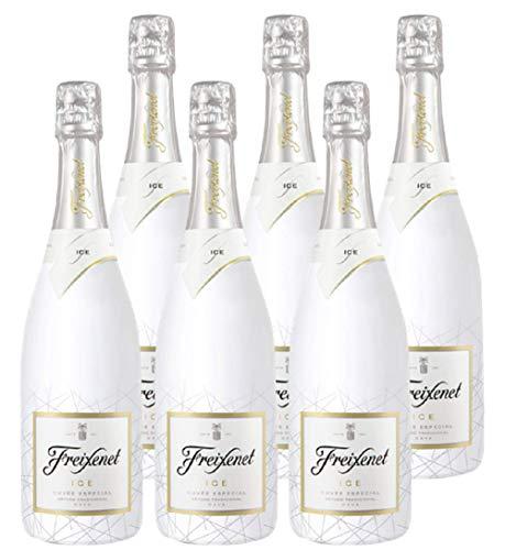 Freixenet ICE, Cava, Halbtrocken, 11,5% Alkohol (6 x 0,75l Flaschen) – Wunderbar spritzig Dank der...