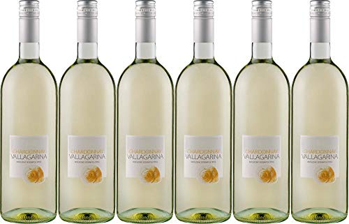6x Chardonnay Vallagarina 1 L 2019 - Cantina Valdadige Veronese, Trentino-Alto Adige - Weißwein