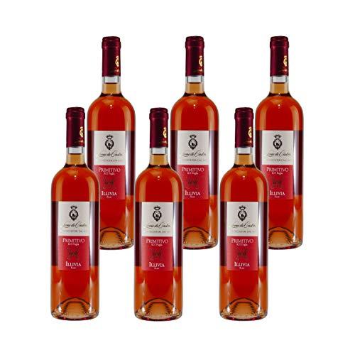 Leone de Castris Primitivo Rosé IGT Rosewein (6 x 0,75L)