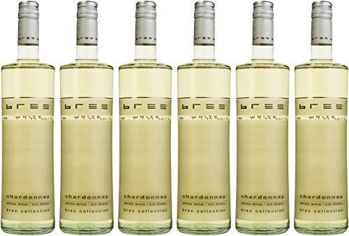 Bree Chardonnay Weißwein IGP halbtrocken aus Frankreich (6 x 0.75 l)