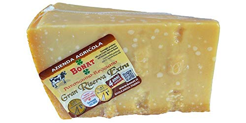 Die beste Parmigiano Reggiano von Italie , Landwirtschaftsbetrieb Bonat, 4 Jahre gereift , 1 Stuck 1...