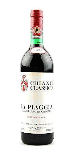 Wein 1975 Chianti Classico La Piaggia