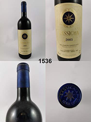 Tenuta San Guido - Sassicaia - Famille Incisa della Rochetta 2003