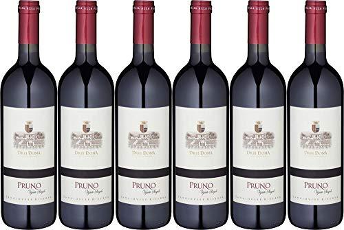 6x Sangiovese Pruno Superiore Riserva 2012 - Weingut Drei Dona, Emilia-Romagna - Rotwein