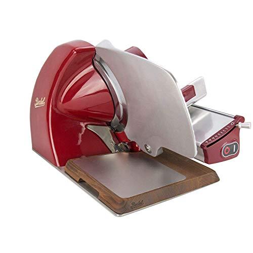 Palatina Werkstatt ® Berkel - Elektrische Aufschnittmaschine Home Line 250 | Rot | Modell: 2020 +...