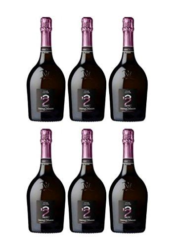 Borgo Molino Spumante Pink Cuvée Venti2 Extra Dry (6er Vorratspaket)