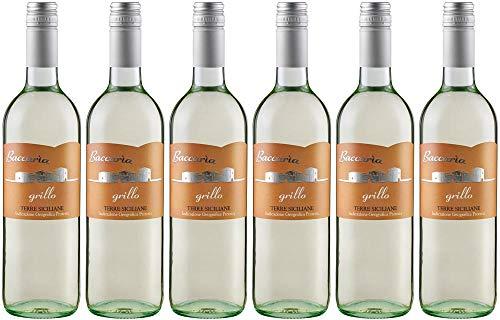 6x Misilla Grillo Terre Siciliane 2019 - Weingut Cantine Paolini, Sicilia - Weißwein
