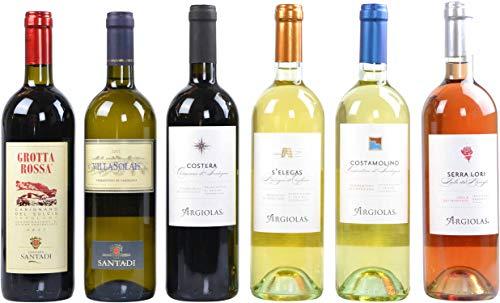Sardinien-Wein-Paket (6 x 0,75 l)