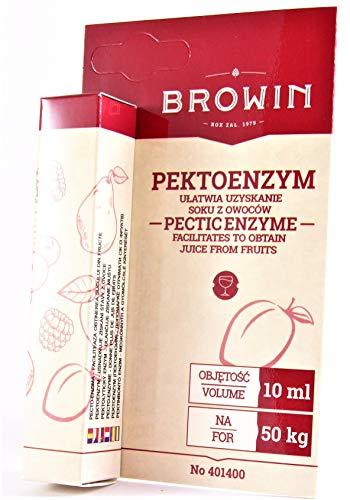 Pektinolytische Enzyme flüssig 10ml für 50kg Früchte oder Most, Maische, Wein, Obstsäfte
