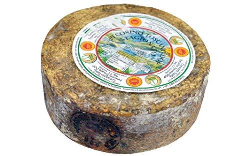 Pecorino Toscano g.U. Gereifter Schafskäse Ganze Form, Gewicht von Kg.1,8